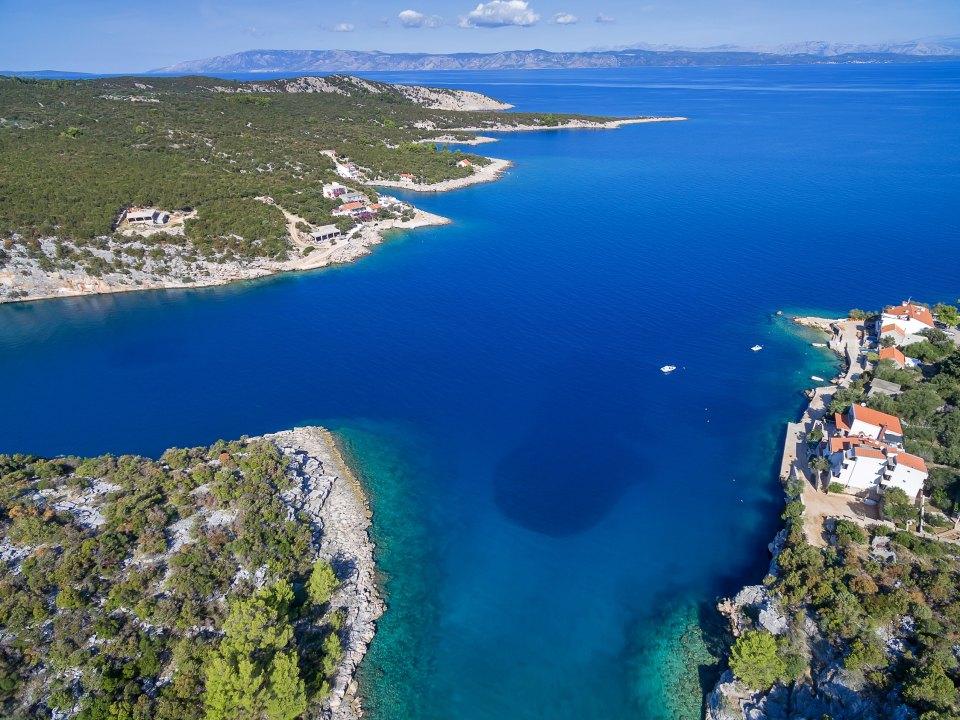 Bay Pokrivenik - island Hvar - Holiday house
