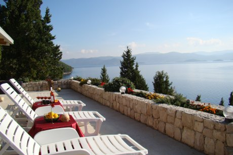 Secluded Seafront Magical House Marica