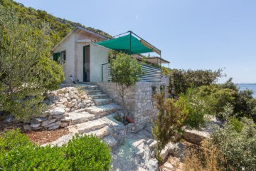 Holiday cottage Vakovic, Bay Svitla - island Ugljan